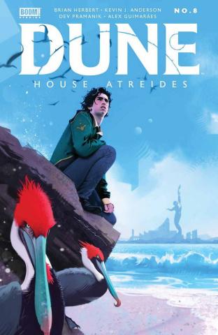 Dune: House Atreides #8 (Dekal Cover)