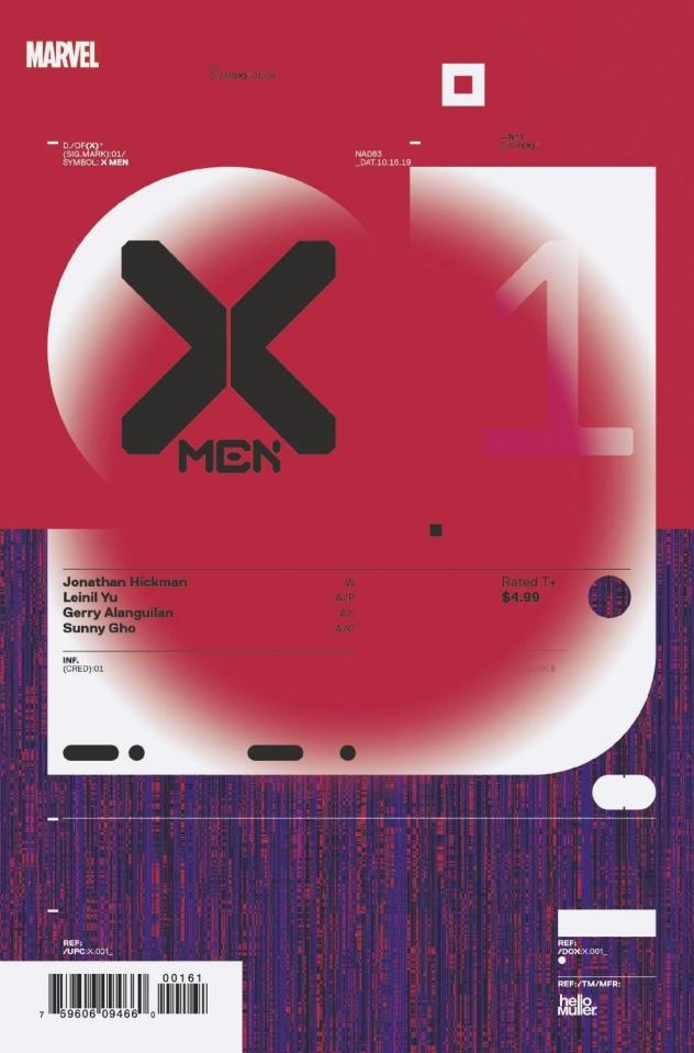 X-Men #1 (Muller Design Cover)