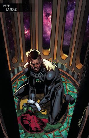 Black Panther #1 (Larraz Young Guns Cover)