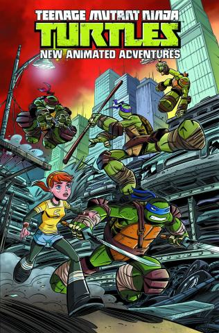 Teenage Mutant Ninja Turtles: New Animated Adventures Vol. 1