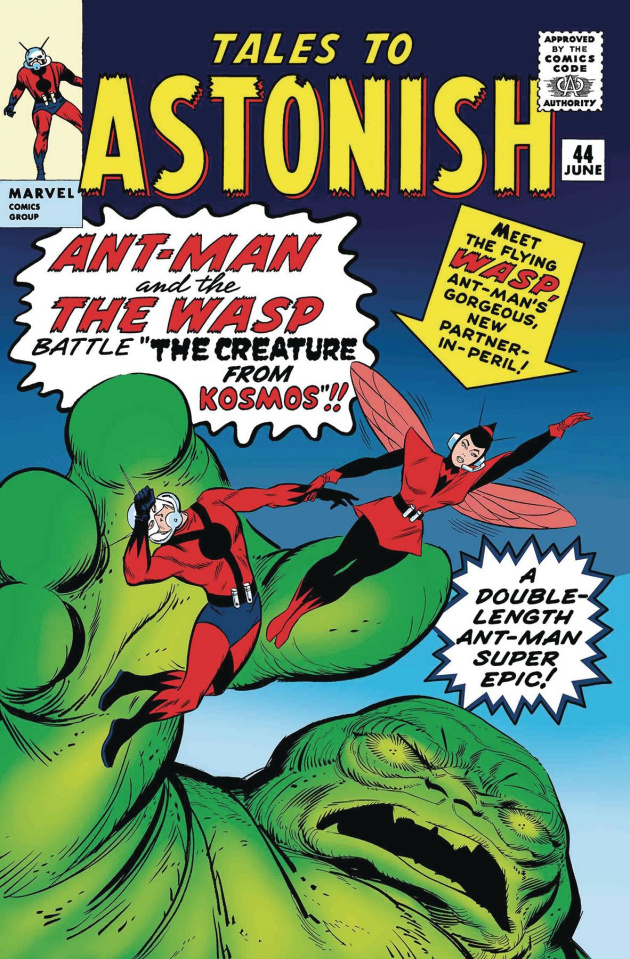 Ant-Man and the Wasp #1 (True Believers Kirby Cover)
