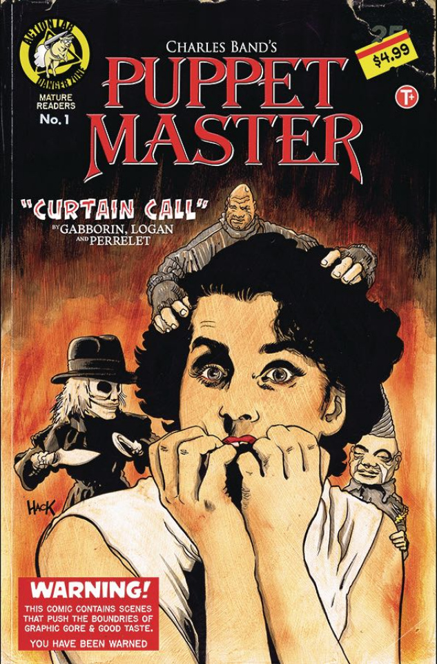 Puppet Master: Curtain Call #1 (Hack Cover)