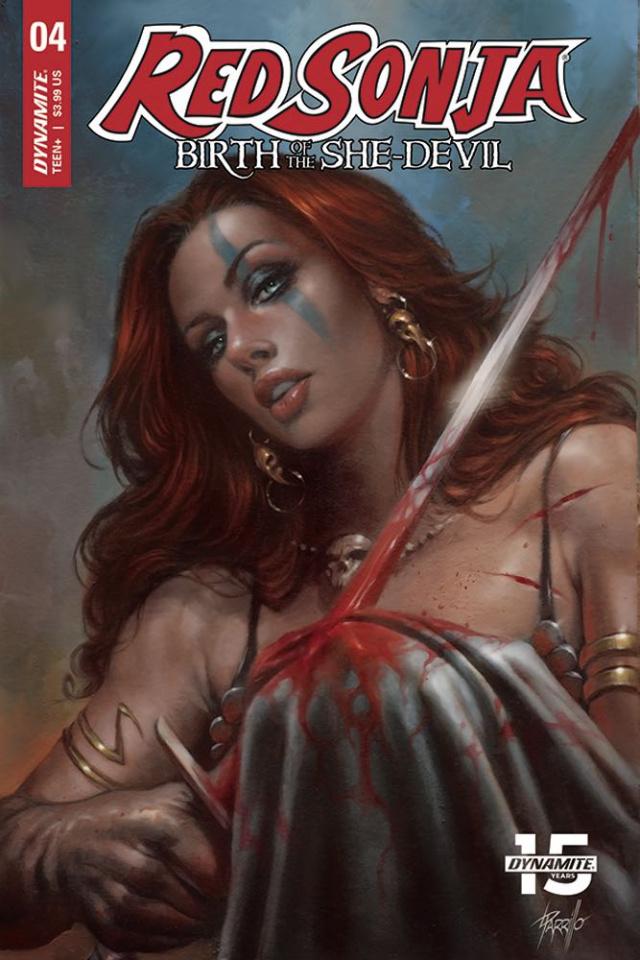Red Sonja: Birth of the She-Devil #4 (Parrillo Cover)