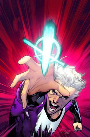 Quicksilver: No Surrender #1 (Larraz Cover)
