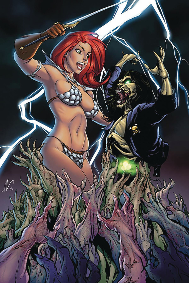 Red Sonja: Age of Chaos #2 (Garza Virgin Cover)