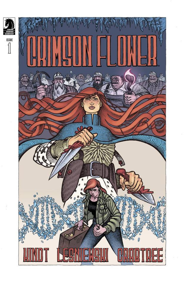 Crimson Flower #1 (Lesniewski Cover)