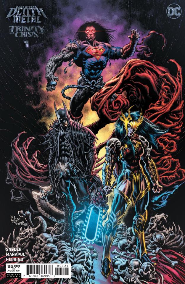 Dark Nights: Death Metal - Trinity Crisis #1 (1:25 Kyle Hotz Cover)