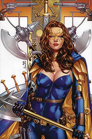 Belle: Beast Hunter #5 (Anacleto Cover)