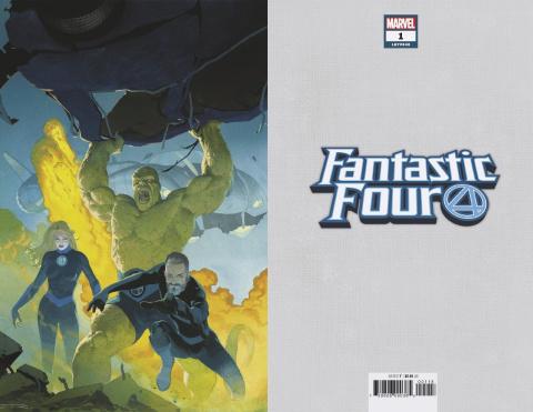 Fantastic Four #1 (Ribic Virgin Cover)
