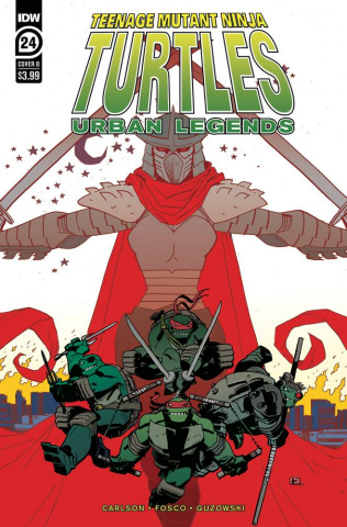 Teenage Mutant Ninja Turtles: Urban Legends #24 (Kuhn Cover)
