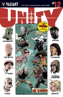 Unity #12 (Level Cover)