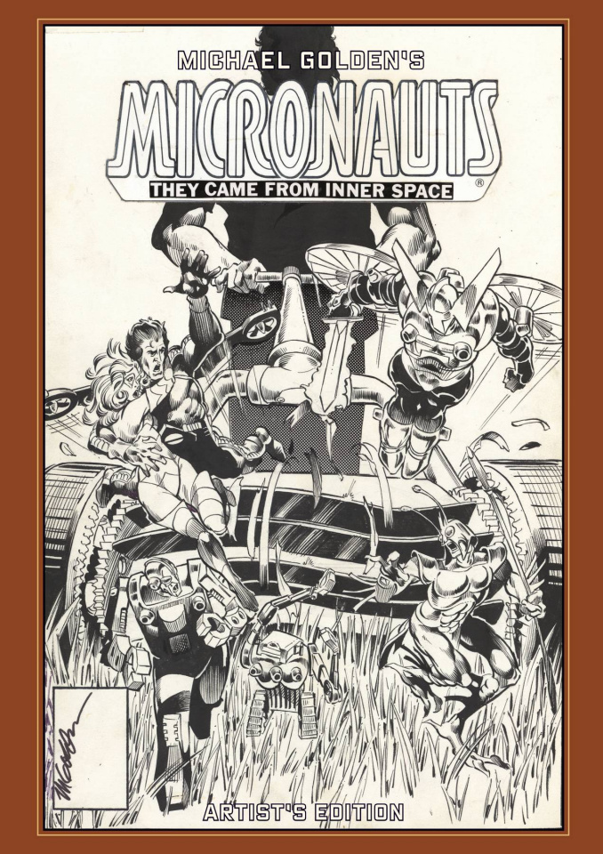 Michael Golden's Micronauts Artist's Edition