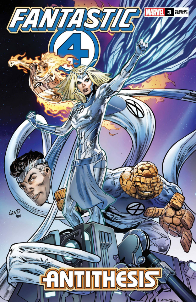 Fantastic Four: Antithesis #3 (Land Cover)