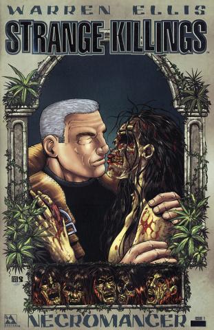 Strange Killings: Necromancer #1 (Platinum Foil Cover)
