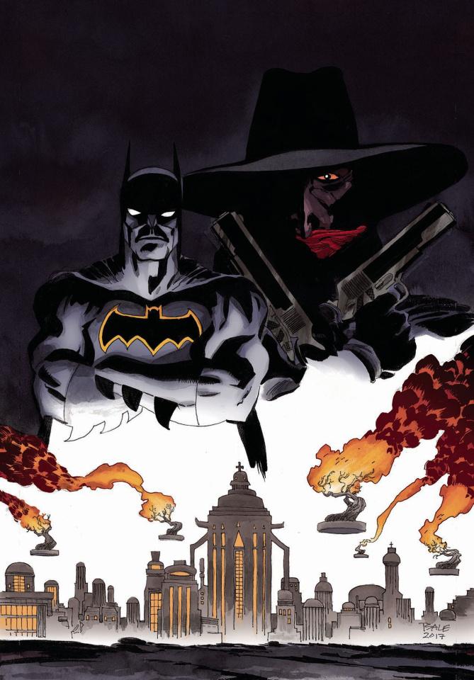 Batman / The Shadow #6 (Sale Cover)