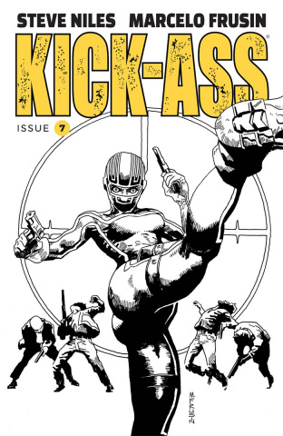 Kick-Ass #7 (Frusin Cover)