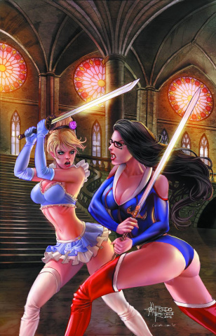 Grimm Fairy Tales: Myths & Legends #24 (Reyes Cover)