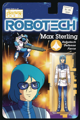 Robotech #8 (Action Figure Cover)