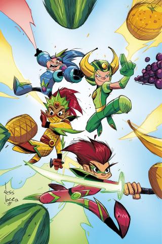 Fruit Ninja #1 (20 Copy Brown Virgin Cover)