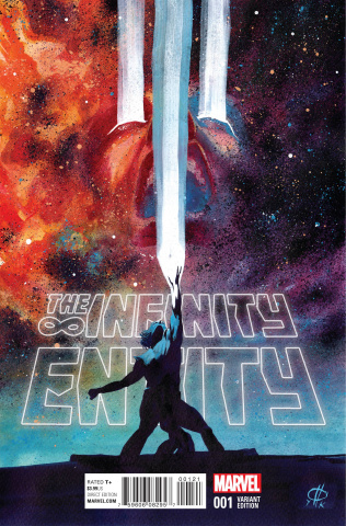 The Infinity Entity #1 (Rudy Cover)