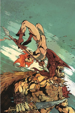 Red Sonja #20 (15 Copy Castro Virgin Cover)