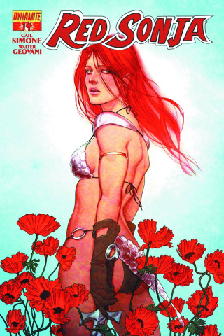Red Sonja #14 (Frison Cover)