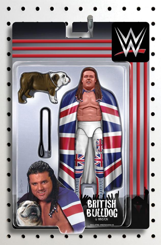 WWE #10 (Unlockable Action Figure Cover)