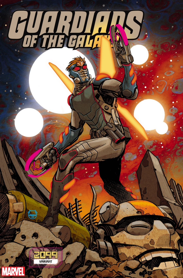 Guardians of the Galaxy #11 (Johnson 2099 Cover)
