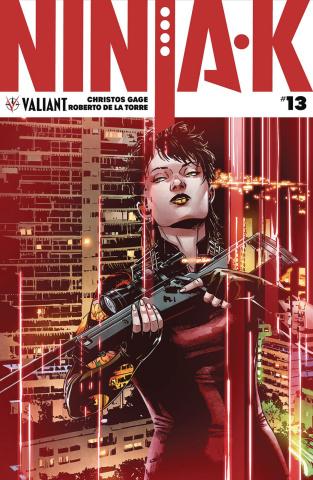 Ninja-K #13 (20 Copy Programme Laming Cover)