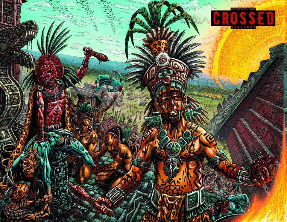 Crossed: Badlands #19 (End of the World Cover)