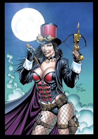 Grimm Fairy Tales: Van Helsing vs. Dracula #4 (Rei Cover)