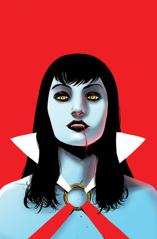 Vampirella: The Dark Powers #4 (25 Copy Moss Virgin Cover)