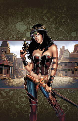Grimm Fairy Tales: Steampunk #1 (Chen Cover)