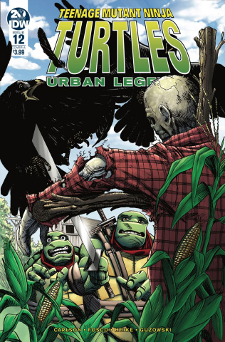 Teenage Mutant Ninja Turtles: Urban Legends #12 (Fosco Cover)