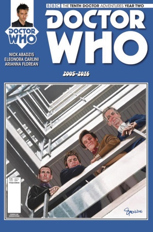 Doctor Who: New Adventures with the Tenth Doctor, Year Two #11 (Carlini Cover)