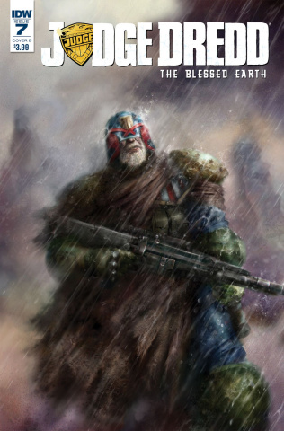 Judge Dredd: The Blessed Earth #7 (Percival Cover)