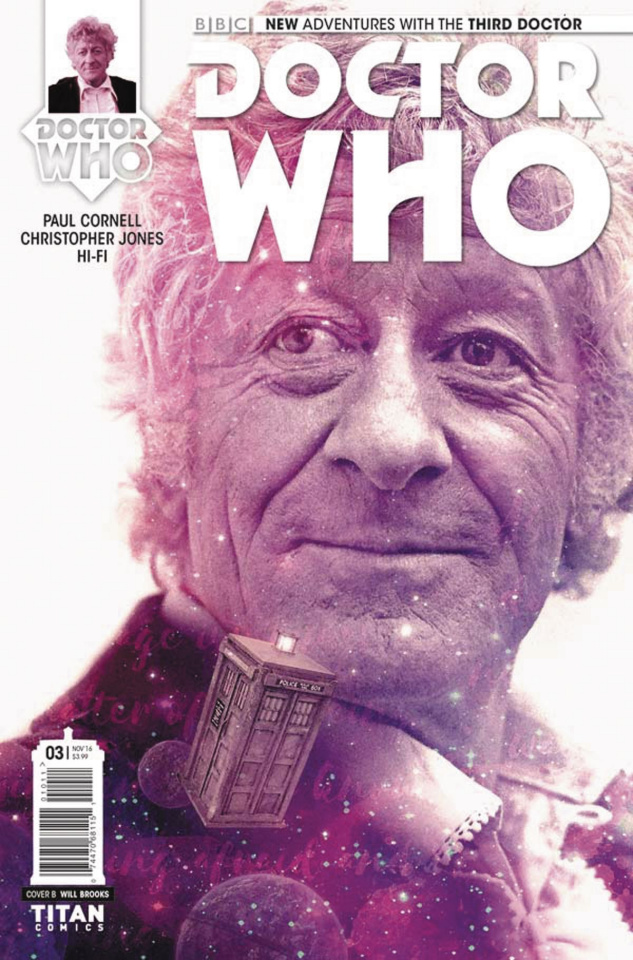 Doctor Who: New Adventures with the Third Doctor #3 (Photo Cover)