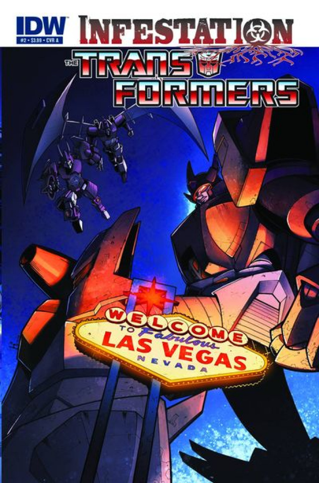 Transformers: Infestation #2
