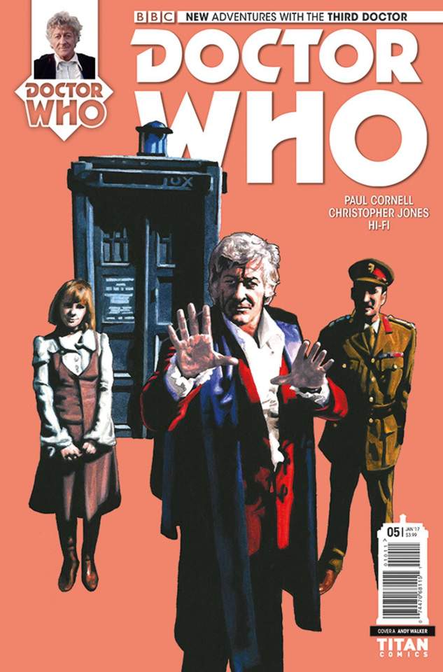 Doctor Who: New Adventures with the Third Doctor #5 (Walker Cover)