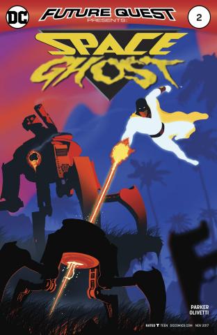 Future Quest Presents #2 (Variant Cover)