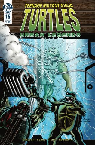 Teenage Mutant Ninja Turtles: Urban Legends #15 (Fosco Cover)