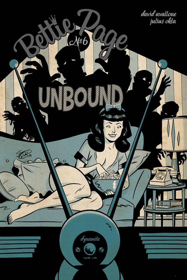 Bettie Page: Unbound #6 (Chantler Cover)