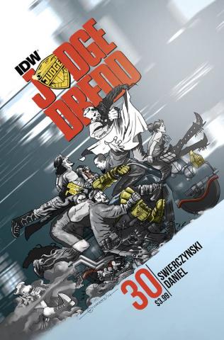 Judge Dredd #30 (Subscription Cover)