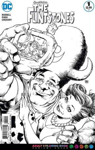The Flintstones #1 (Coloring Book Cover)