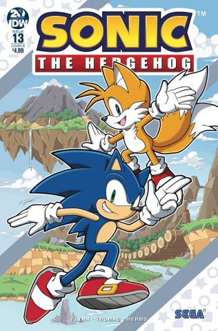 Sonic the Hedgehog #13 (Gates Cover)