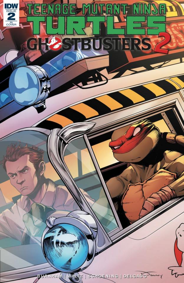 Teenage Mutant Ninja Turtles / Ghostbusters 2 #2 (10 Copy Cover)