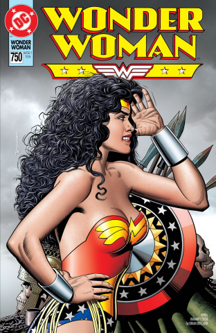 Wonder Woman #750 (1990s Cover)