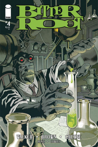 Bitter Root #4 (Nowlan Cover)