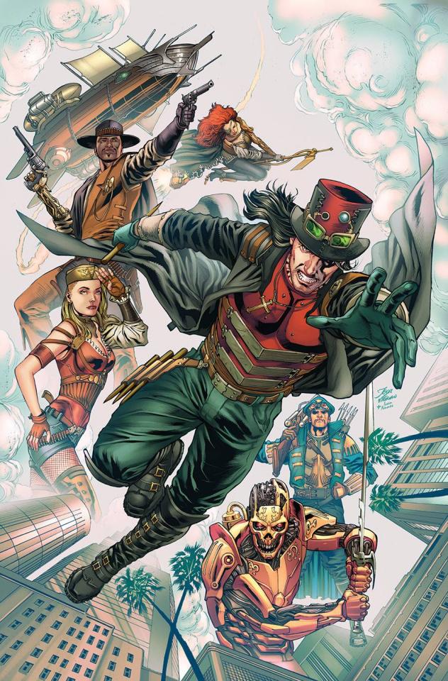 Grimm Universe Presents Quarterly: Steampunk (Igor Vitorino Cover)