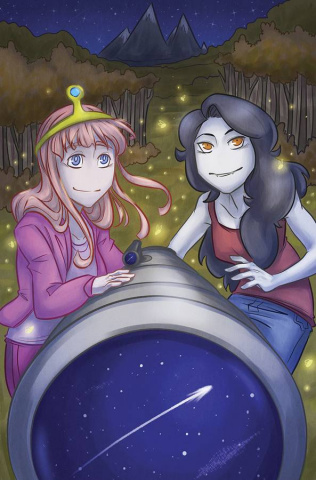 Adventure Time: Marceline Gone Adrift #4 (Subscription Dill Cover)